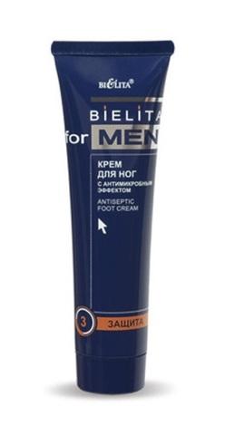 Белита Bielita for Men Крем для ног с антимикробным эффектом 100мл