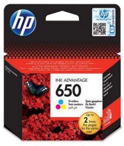 Картридж CZ102AE (№650) цветной HP DeskJet Ink Advantage 2515/2515 e-All-in-One