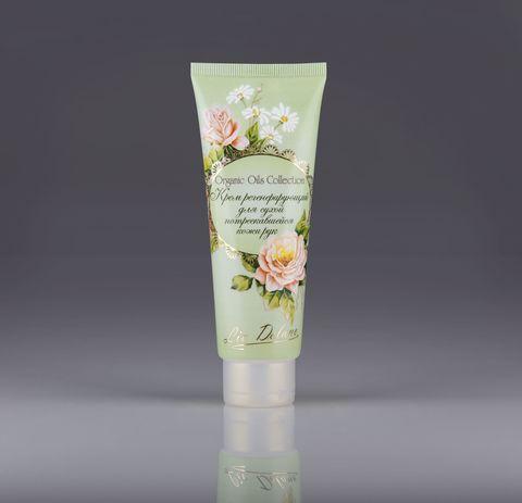 Liv delano Organic Oils Collection Крем регенерирующий для сухой, потрескавшейся кожи рук 100г