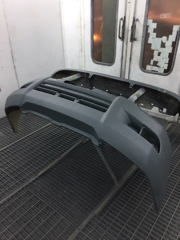 Покраска Раптором Toyota Prado 150 фото-10