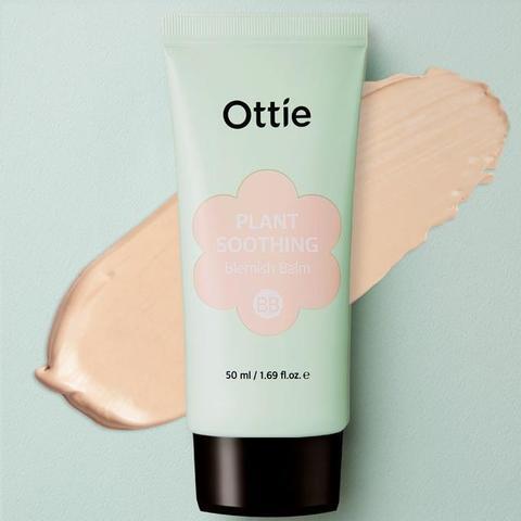 Успокаивающий ВВ крем для чувствительной/проблемной кожи, 50 мл / Ottie Plant Soothing Blemish Balm