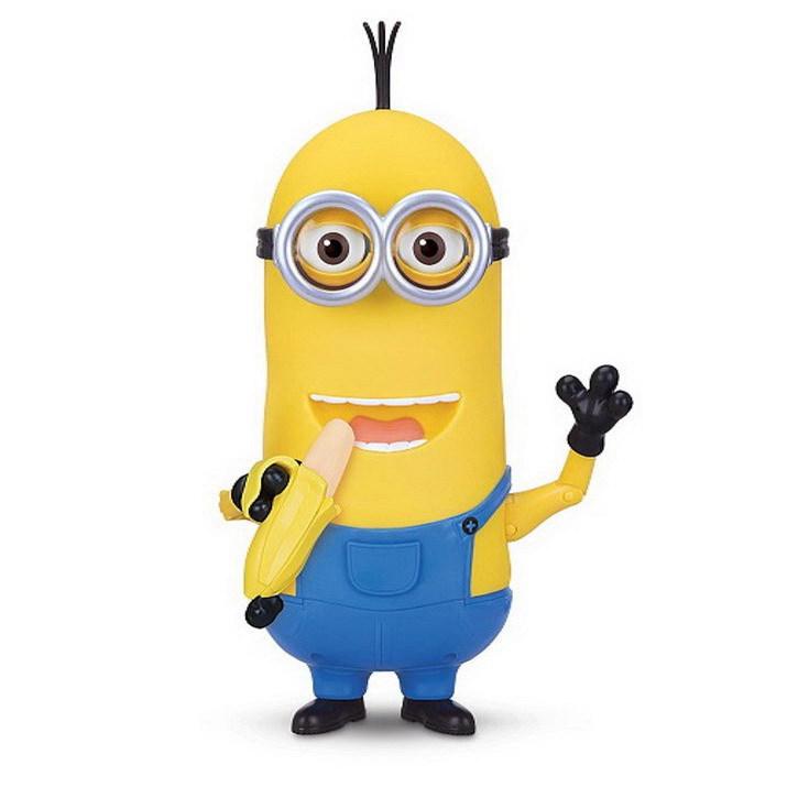 Игрушки Миньоны Миньон Кевин с бананом интерактивная игрушка Soft Skin 27 см kevin_banana_1.jpg