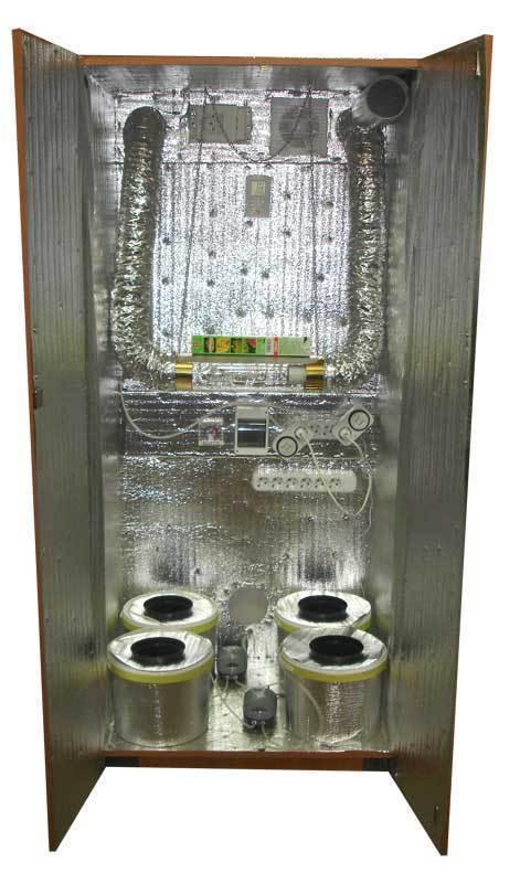 Гроубокс(150х80х62) с минимальной комплектацией.