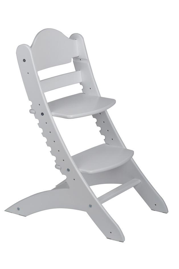 Детский растущий стул Два кота М1 Белый