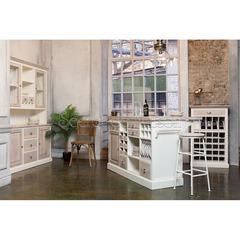 Шкаф винный Secret De Maison RIVIERA ( mod.257750) — античный белый