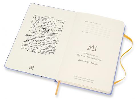 Блокнот Moleskine Limited Edition Basquiat, violet, фото 4