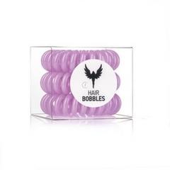 Силиконовая резинка для волос Hair Bobbles  - Сиреневая, 3 шт
