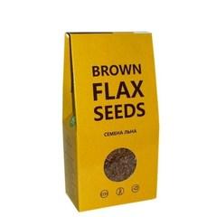 Семена льна коричневого, 150 гр. (Компас здоровья)