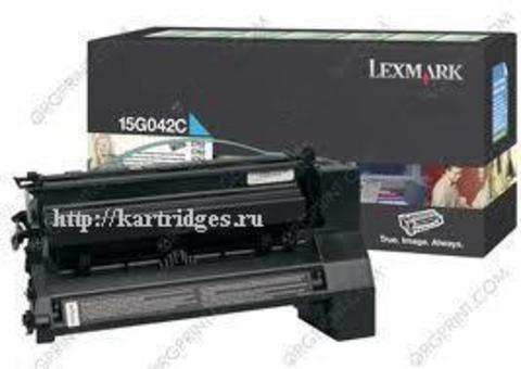 Картридж Lexmark 15G042C