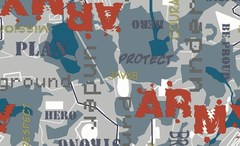 Велюр Army denim (Арми деним)