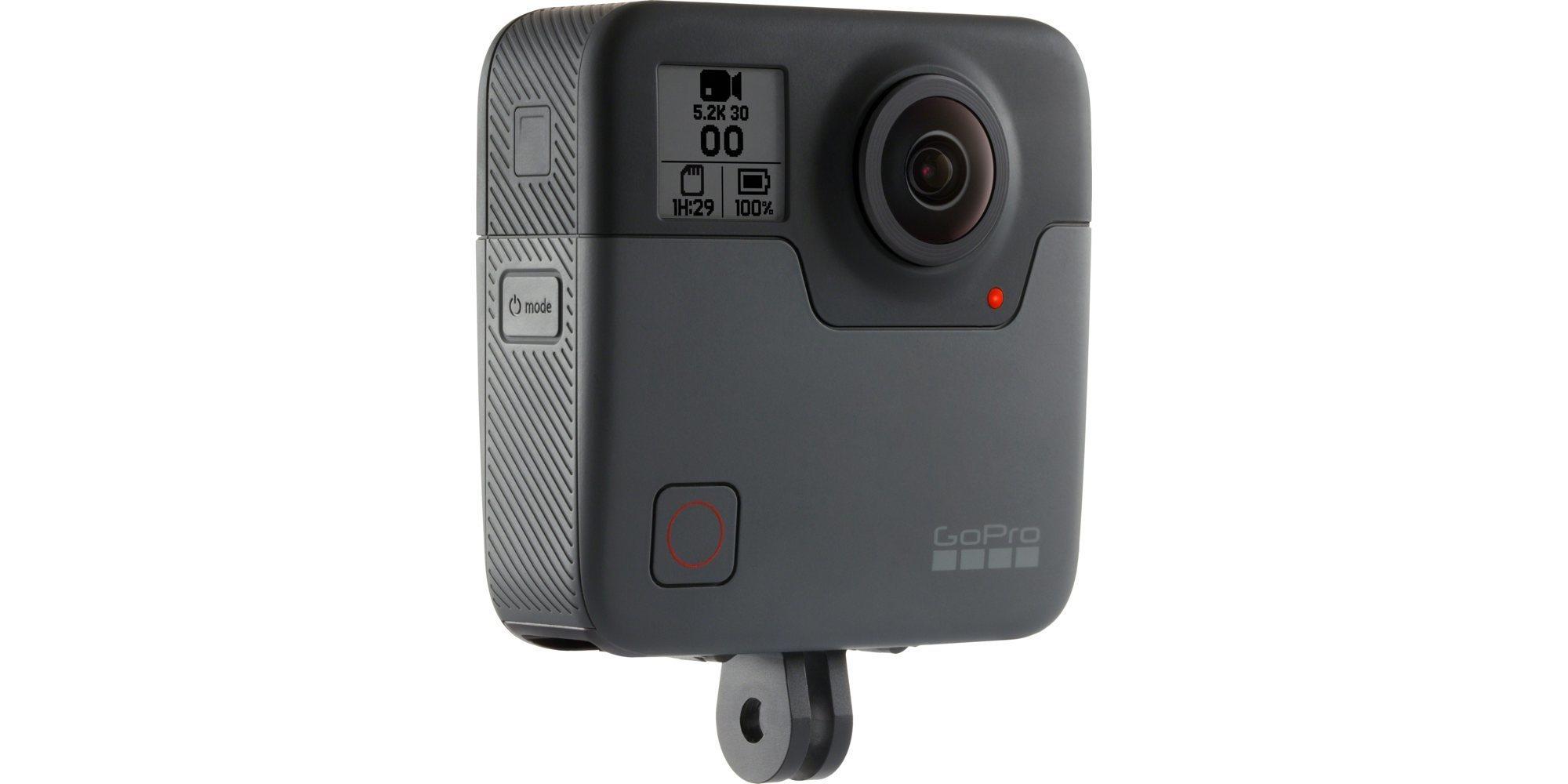Панорамная камера GoPro Fusion 360 (CHDHZ-103) вид сбоку
