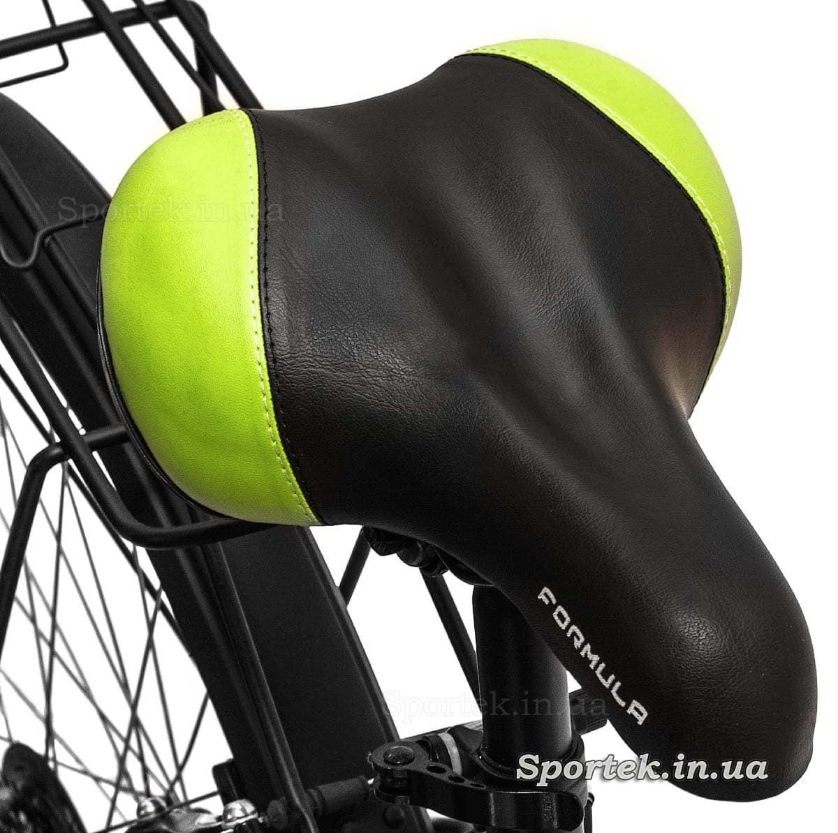 Седло (сидение) женского городского велосипеда Formula Breeze 2016