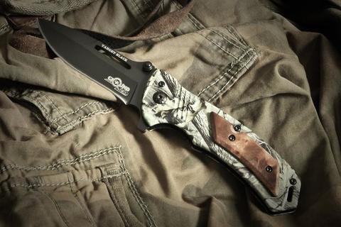 Складной нож Target Black (сталь 5Cr15mov ~ z50)