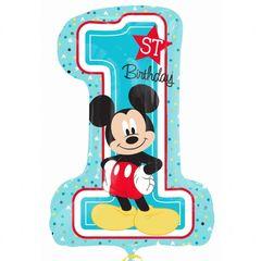 Цифра Микки 1й День рождения