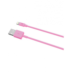 Кабель Griffin Lightning to USB. Длина 1 м. Цвет розовый.