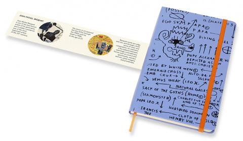 Блокнот Moleskine Limited Edition Basquiat, violet, фото 6