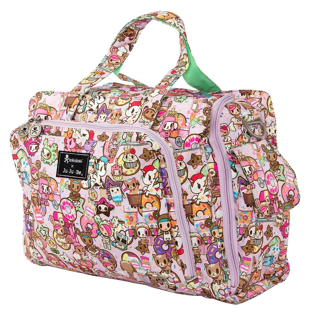 #Дорожная сумка или сумка для двойни Ju-Ju-Be Be Prepared tokidoki donutellas sweet shop