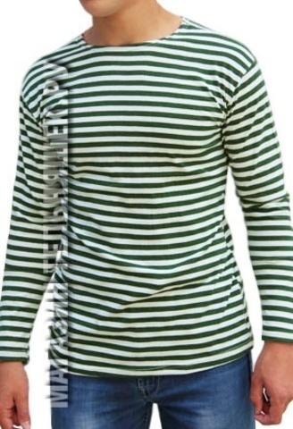 Купить недорого зеленую тельняшку - Магазин тельняшек.ру 8-800-700-93-18
