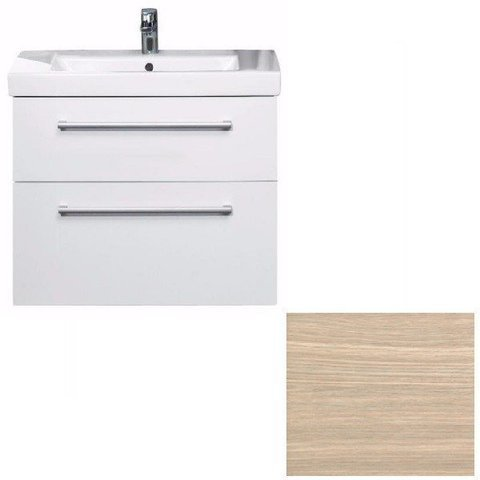 Тумба с раковиной Villeroy&Boch 2DAY2/SUBWAY 2.0 A98000E9+71758001 light wood