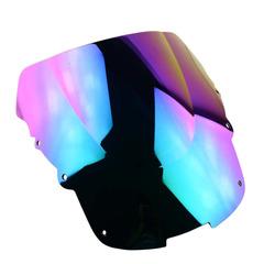Ветровое стекло для мотоцикла Honda CBR1100XX 96-07 DoubleBubble Иридий