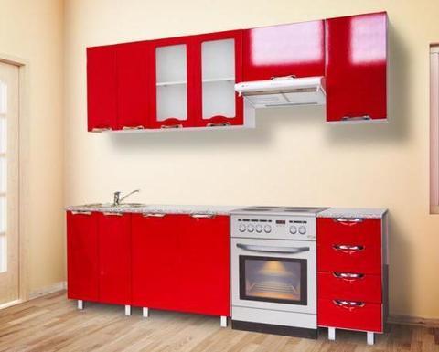 Кухня ВИГО 1,8 красный