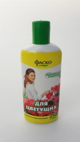 """Удобрение для цветущих ФАСКО, 250мл """"Цветочное счастье"""""""