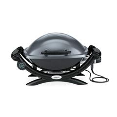 Электрический гриль Weber Q1400 , темно-серый