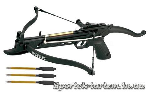 Арбалет-пистолет рекурсивный Man Kung MK-80A4PL