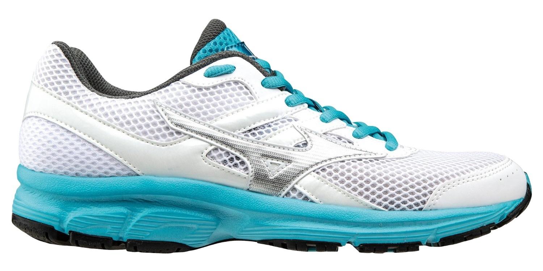 Mizuno Spark женские беговые кроссовки K1GA1604 05 белые - фото, скидки, описание