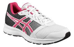 Женские кроссовки для бега Asics Patriot 8 T669N 0119 черно-белые