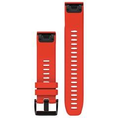 Ремешок силиконовый QuickFit 22 для Garmin Fenix 5 (красный) 010-12496-03