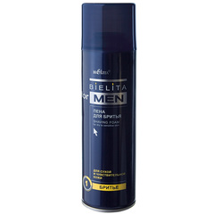 Пена для  бритья  для сухой кожи, 250 мл Bielita for Men