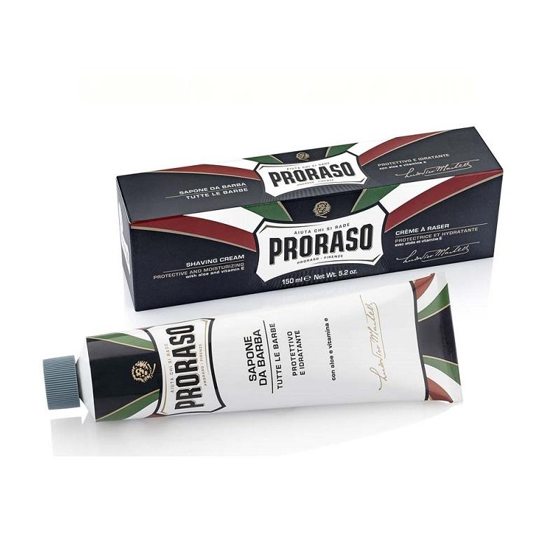 Крем для бритья Proraso алоэ вера и витамин е