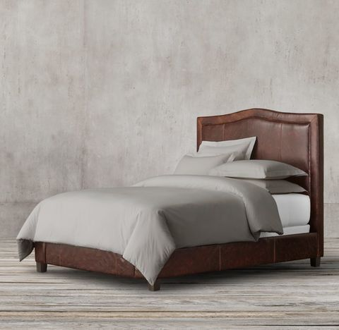 Latham Leather Bed