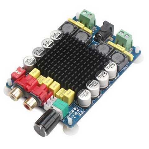 Модуль RS032. Цифровой стерео усилитель 2x100 Вт на микросхеме TDA7498