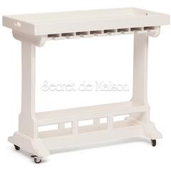 Столик винный Secret De Maison RIVIERA ( mod.106780 ) — античный белый