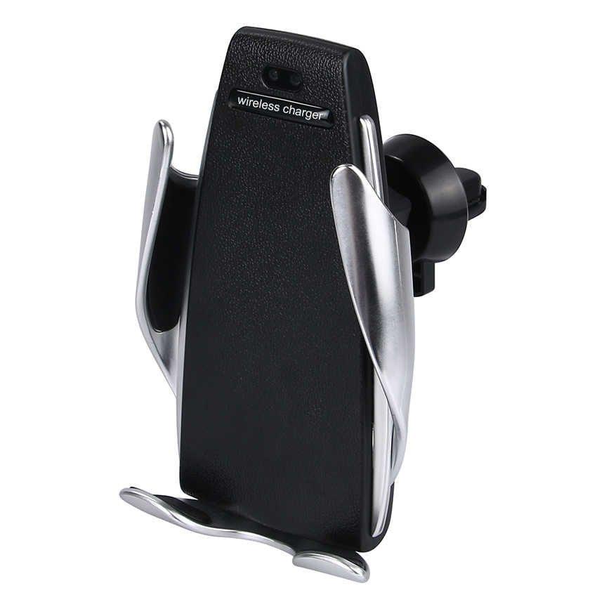Новинки Держатель для телефона с беспроводной зарядкой Penguin Smart Sensor S5 derjatel.jpg
