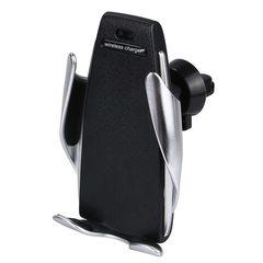 Держатель для телефона с беспроводной зарядкой Penguin Smart Sensor S5