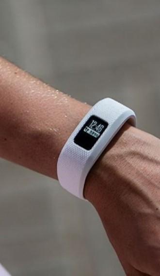 Фитнес-браслет Garmin Vivofit 3 белый стандартного размера