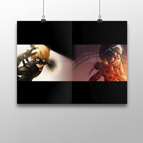 Плакат с Леди Баг и Супер Котом №5