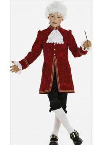Выкройка Burda (Бурда) 2461 — Моцарт, принц