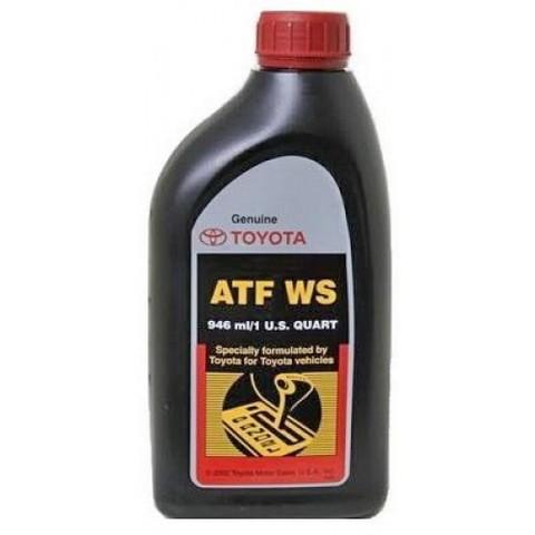 TOYOTA ATF WS Жидкость трансмиссионная АКПП с типтроником для LC100 (Япония)