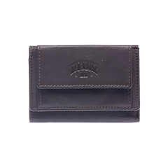 Мини-бумажник Klondike Claim, коричневый, 10,5х2х7,5 см