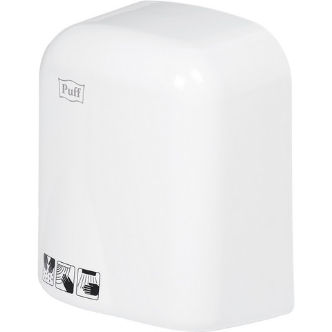 Сушилка электрическая для рук автомат, 1,65 кВт, пластик., белая