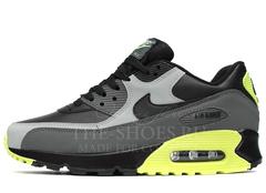 Кроссовки Мужские Nike Air Max 90 Triple Grey Green