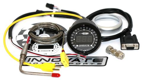 Innovate MTX D: Температура выхлопных газов с 52мм индикатором.