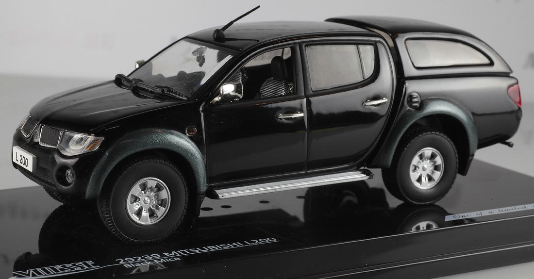 Коллекционная модель Mitsubishi L200