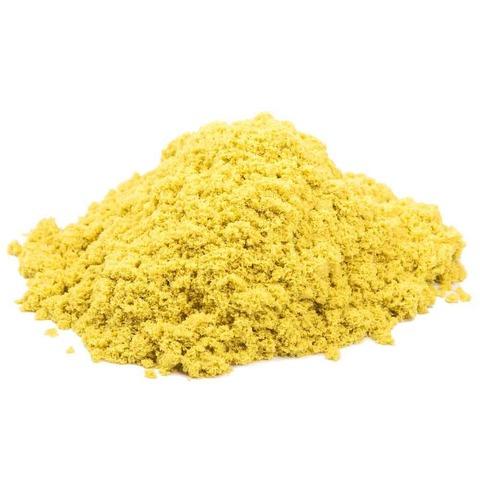 Набор космического песка  «Вокруг света», с ароматом банана (желтый цвет) 2 кг