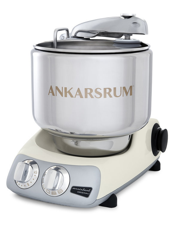 Тестомес комбайн Ankarsrum AKM6230CL+ слоновая кость (расширенный)