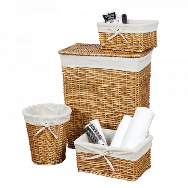 Держатели для ванной Набор корзин 4 шт Creative Bath Storage Set nabor-korzin-4-sht-creative-bath-storage-set-ssha-kitay.jpg
